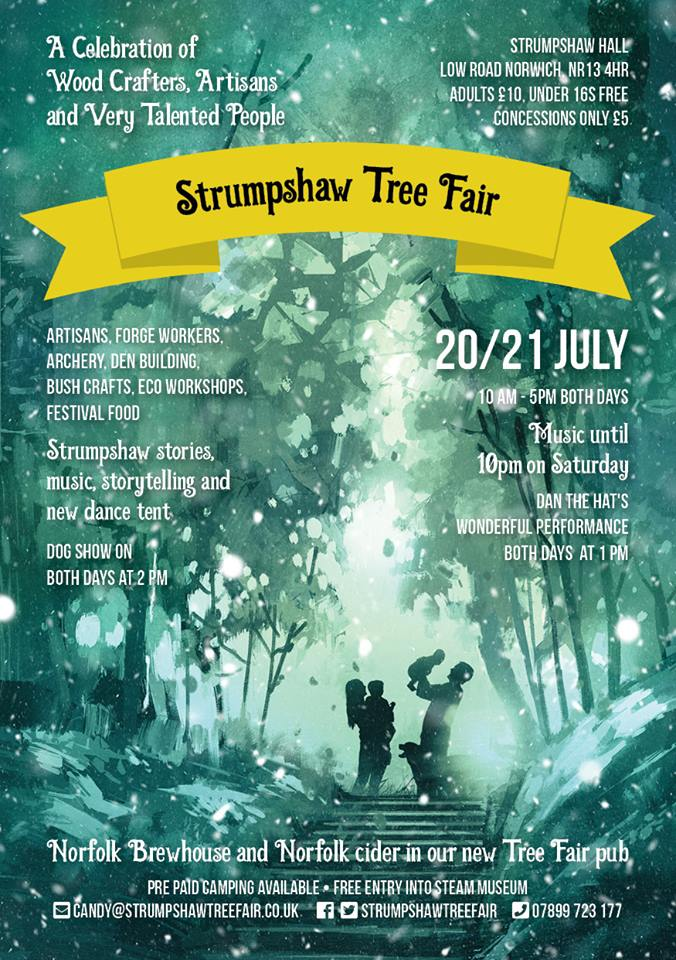 Strumpshaw Tree Fair 2019 - Spirit of Norfolk Wood Carvings Sculptures